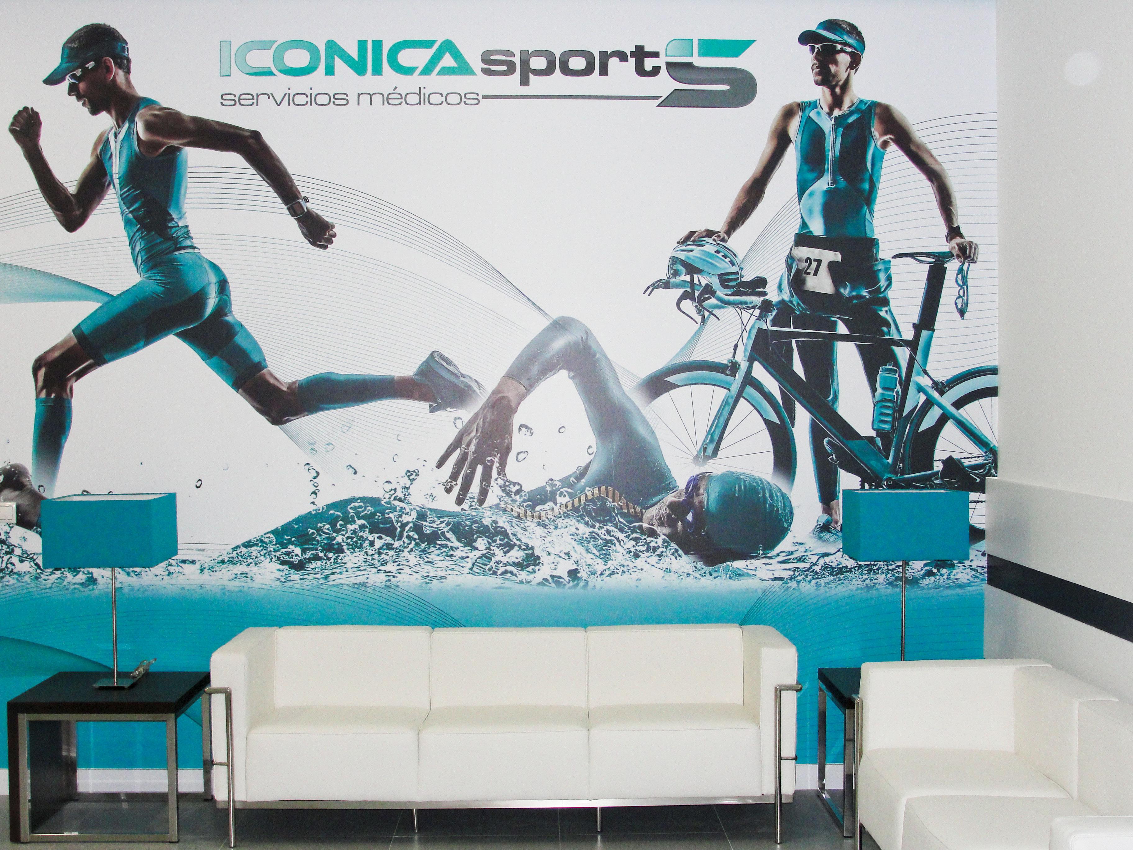 clinica medicina deportiva iconica sports. vigo
