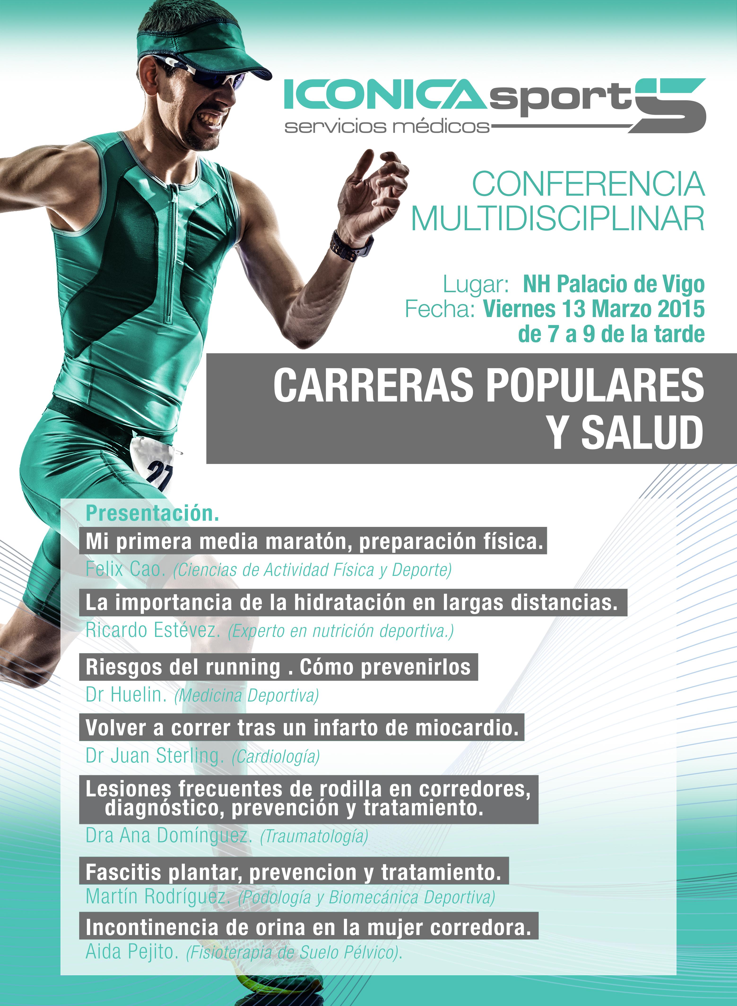 CARRERAS POPULARES Y SALUD. CONFERENCIA MULTIDISCIPLINAR