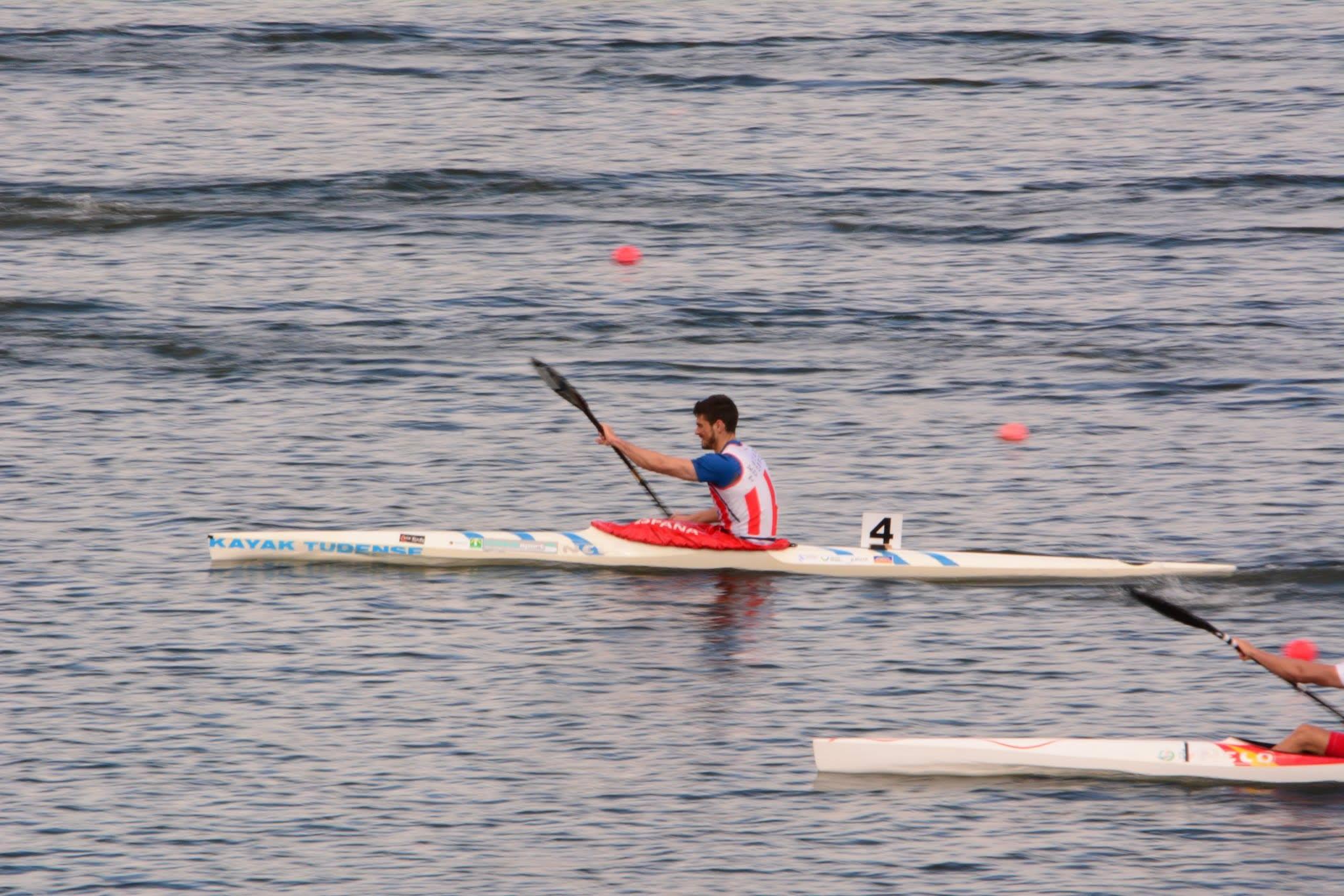 Roi Rodríguez campeón de España kayak (2)
