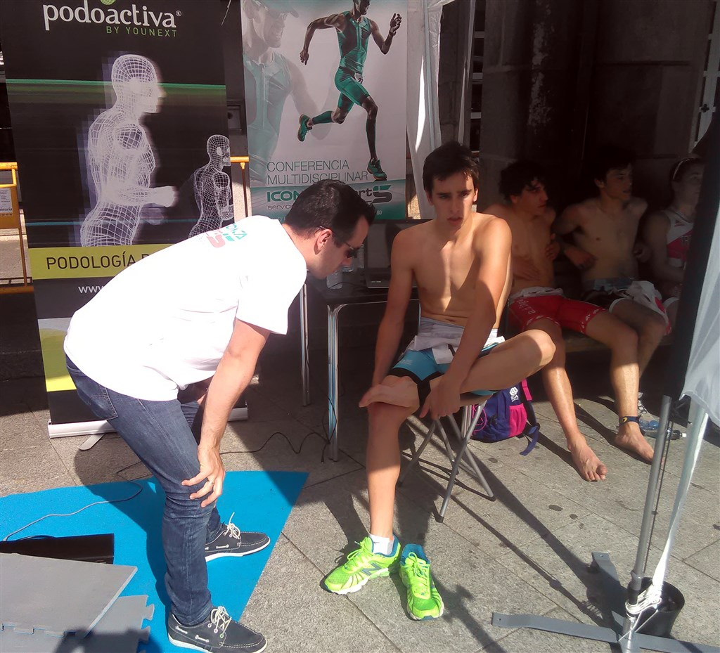 clinica iconica sports biomecanica en triatlon porriño
