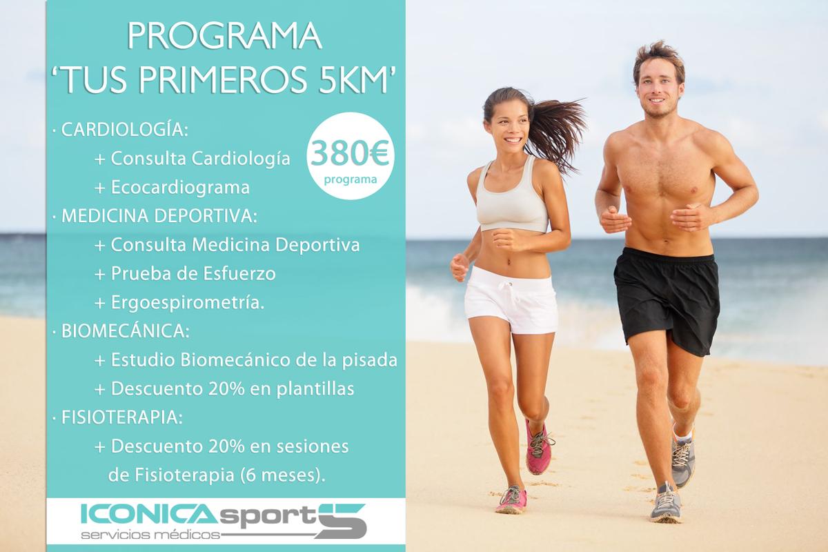 Programa de preparación deportiva Tus primeros 5k