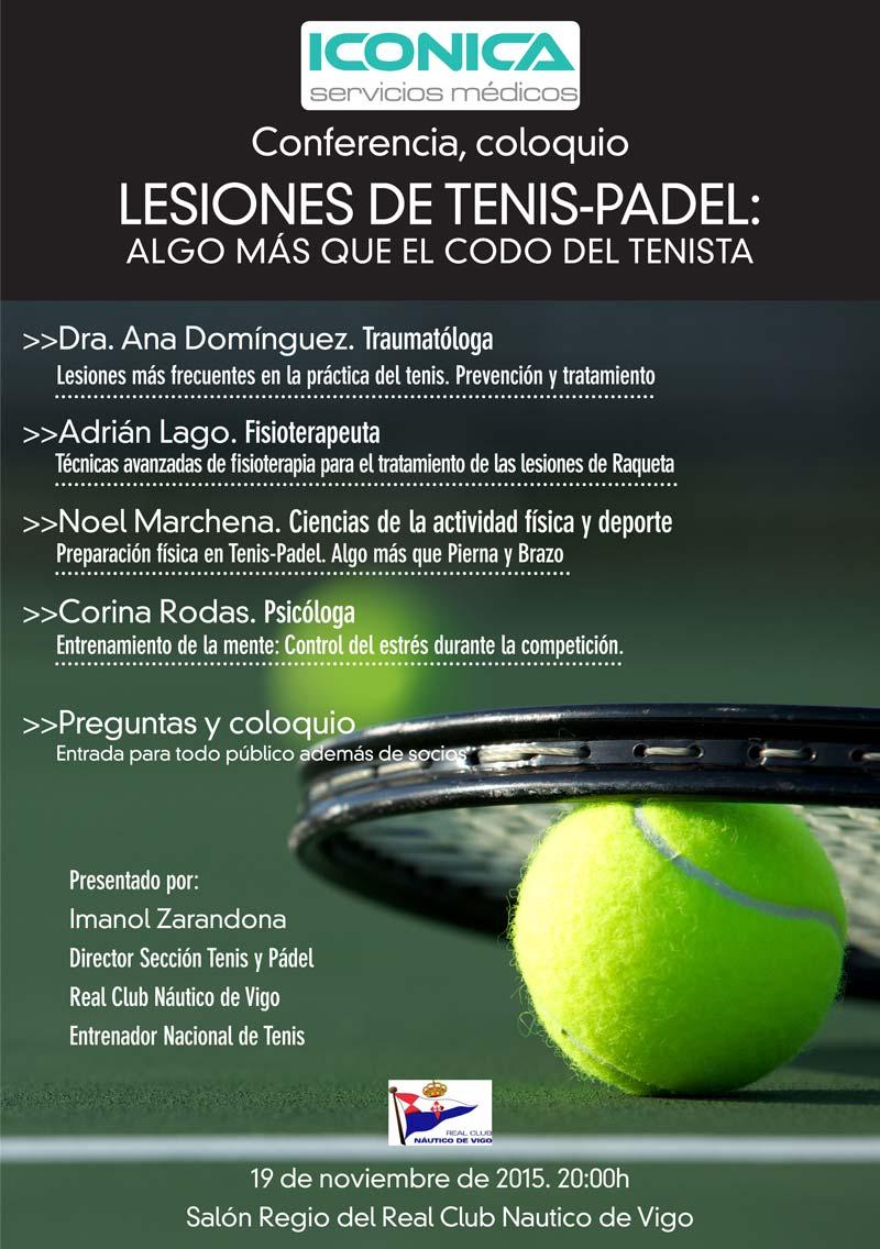 Lesiones habituales del Tenis-Pádel