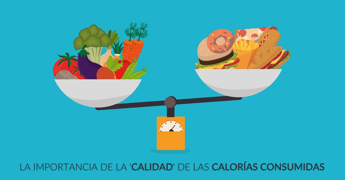 La importancia de la 'calidad' de las calorías consumidas