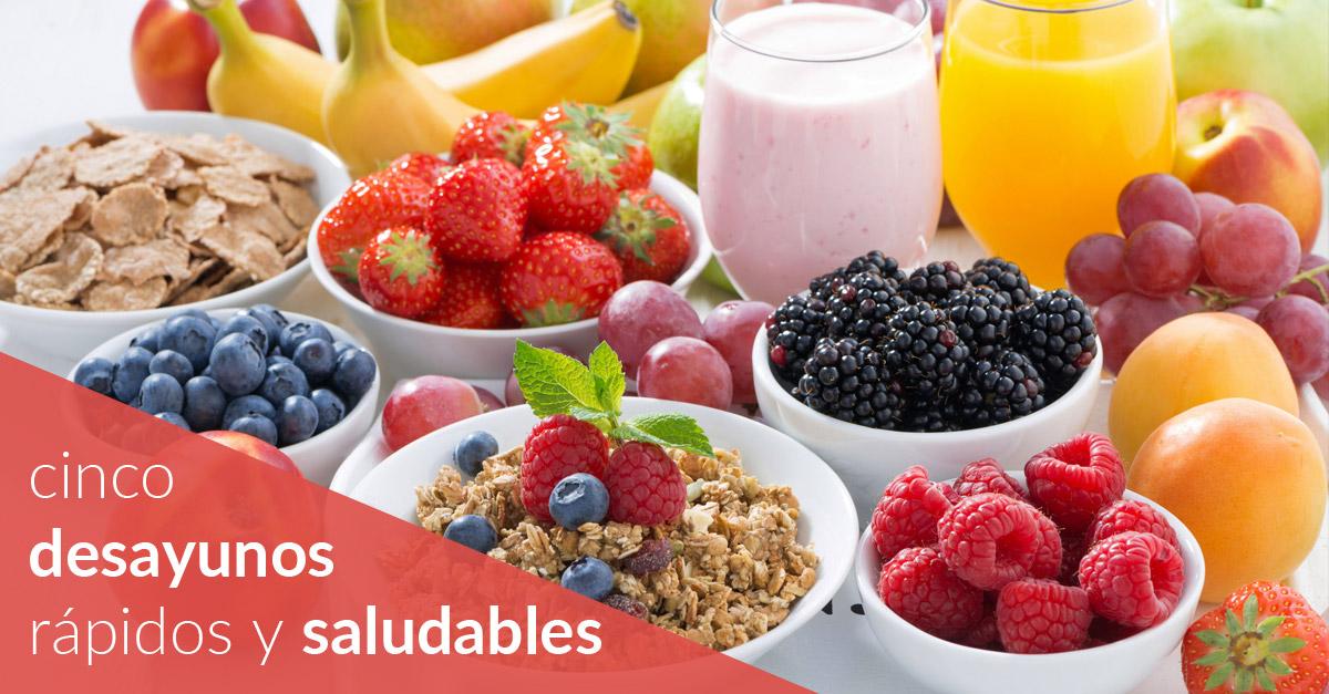 cinco desayunos rápidos y saludables iconica sports