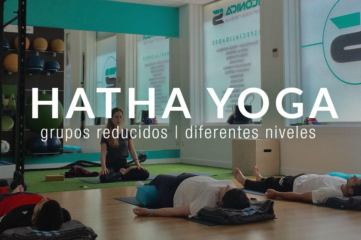 Nuevos grupos de Hatha Yoga en ICONICA Sports (Vigo)