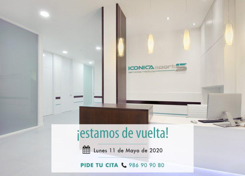 Reapertura-de-instalaciones-ICONICA-Servicios-Médicos-Vigo-tras-covid19